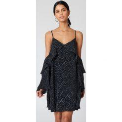 Sukienki hiszpanki: Neon Rose Sukienka Star – Black