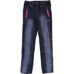 Dżinsy w kolorze granatowym. Niebieskie jeansy dziewczęce CMP Kids. W wyprzedaży za 115,95 zł.