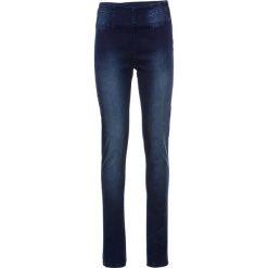 Dżinsy Power Stretch SKINNY bonprix ciemnoniebieski. Niebieskie jeansy damskie marki House, z jeansu. Za 109,99 zł.
