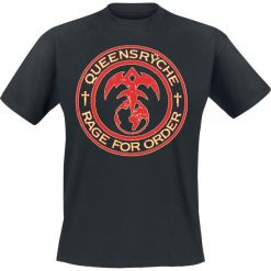 T-shirty męskie: Queensryche Rage For Order T-Shirt czarny
