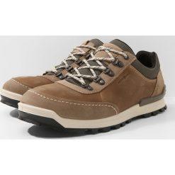 Ecco OREGON Obuwie hikingowe brown. Brązowe buty trekkingowe męskie ecco, z materiału, outdoorowe. Za 579,00 zł.