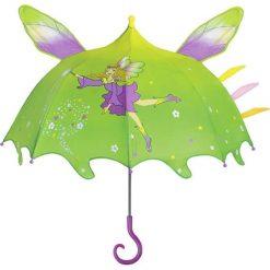 """Parasole: Parasol """"New Fairy"""" w kolorze zielono-fioletowym"""