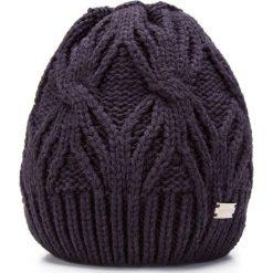 85-HF-027-7 Czapka damska. Niebieskie czapki damskie Wittchen, na zimę, z dzianiny. Za 49,00 zł.