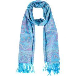 Niebieska apaszka z orientalnym wzorem QUIOSQUE. Niebieskie apaszki damskie QUIOSQUE, z bawełny. Za 69,99 zł.
