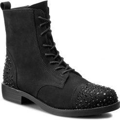 Botki R.POLAŃSKI - 0845/K Czarny. Czarne buty zimowe damskie marki R.Polański, ze skóry, na obcasie. W wyprzedaży za 309,00 zł.