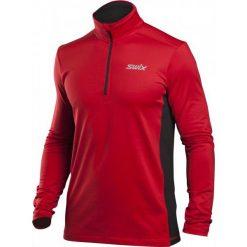 Swix Męska Bluza Myrene, Czerwona, L. Czerwone bluzy męskie marki KALENJI, m, z elastanu, z długim rękawem, długie. W wyprzedaży za 199,00 zł.