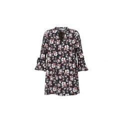 Sukienki krótkie Morgan  RLILI. Czarne sukienki hiszpanki Morgan, z krótkim rękawem, mini. Za 271,20 zł.