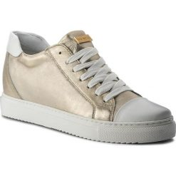 Sneakersy EVA MINGE - Novelda 3J 18BD1372374ES 111. Żółte sneakersy damskie Eva Minge, z materiału. W wyprzedaży za 239,00 zł.