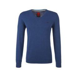 S.Oliver Sweter Męski Xl Niebieski. Niebieskie swetry klasyczne męskie S.Oliver, m, z bawełny. W wyprzedaży za 109,00 zł.