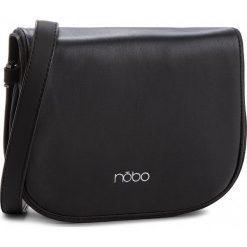 Torebka NOBO - NBAG-F1112-C020 Czarny. Czarne listonoszki damskie Nobo, ze skóry ekologicznej. W wyprzedaży za 109,00 zł.