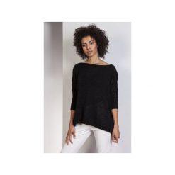 Sweter oversize, SWE114. Czarne swetry oversize damskie Lanti, l, z wiskozy. Za 155,00 zł.