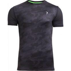 Koszulka treningowa męska TSMF603 - multikolor - Outhorn. Czarne odzież termoaktywna męska marki Outhorn, na lato, z bawełny. W wyprzedaży za 54,99 zł.