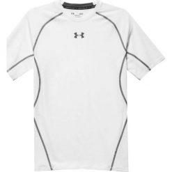 Odzież termoaktywna męska: Under Armour Koszulka termoaktywna HeatGear Compression Shortsleeve M biała r. S (1257468-100)