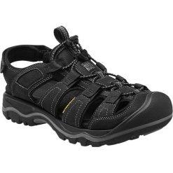 Sandały męskie: Keen Sandały męskie Rialto Black/Gargoyle r. 46 (1014676-12)