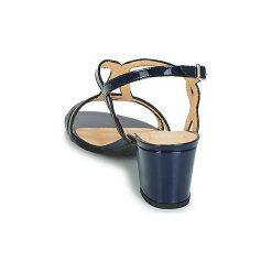 Sandały Perlato  PORLABORD. Niebieskie sandały trekkingowe damskie marki PERLATO. Za 279,20 zł.