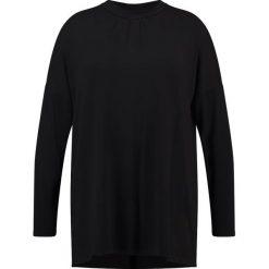 Bluzki asymetryczne: ADIA Bluzka z długim rękawem black