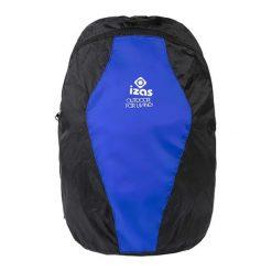 Plecaki męskie: Plecak w kolorze czarno-niebieskim – 16 l