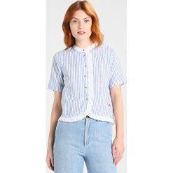 Bluzki asymetryczne: Leon & Harper CUBA Bluzka blue