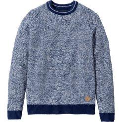 Swetry męskie: Sweter Regular Fit bonprix niebieski melanż