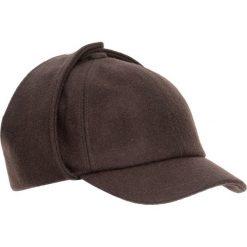 Czapka męska. Brązowe czapki z daszkiem męskie Ochnik, z dzianiny. Za 169,90 zł.