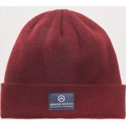 Czapka - Bordowy. Czerwone czapki zimowe męskie marki House. Za 29,99 zł.