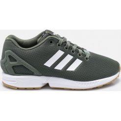 Adidas Originals - Buty ZX Flux. Brązowe buty sportowe damskie marki adidas Originals, z bawełny. W wyprzedaży za 299,90 zł.