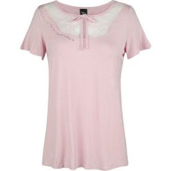 Disney Princess A Dream Is A Wish Koszulka damska jasnoróżowy (Light Pink). Czerwone bluzki asymetryczne DISNEY PRINCESS, xl, z haftami, z koronki. Za 62,90 zł.