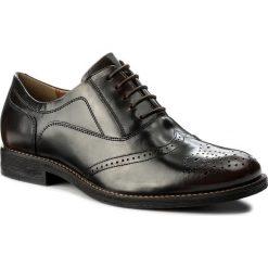 Półbuty LASOCKI FOR MEN - MI08-C322-360-02 Brązowy. Brązowe buty wizytowe męskie Lasocki For Men, z materiału. Za 199,99 zł.