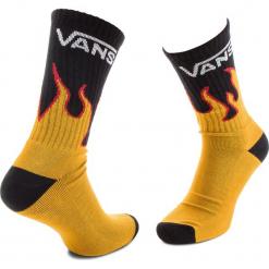 Skarpety Wysokie Męskie VANS - Flames Crew VN0A3HNLFLM Flame. Czerwone skarpetki męskie marki Happy Socks, z bawełny. Za 39,00 zł.