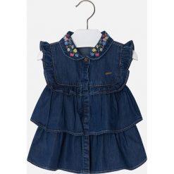 Mayoral - Top dziecięcy 98-134 cm. Niebieskie bluzki dziewczęce Mayoral, z bawełny, bez rękawów. Za 114,90 zł.