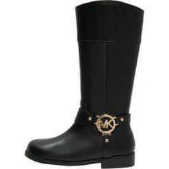 Michael Kors ZIA EMMA Kozaki black. Niebieskie buty zimowe damskie marki Roxy, z tworzywa sztucznego, na wysokim obcasie. W wyprzedaży za 516,75 zł.