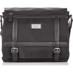 DUŻA TORBA MĘSKA COVERI. Czarne torby na ramię męskie producent niezdefiniowany, w paski, na ramię, duże. Za 159,90 zł.