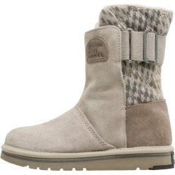 Sorel NEWBIE Śniegowce silver sage. Czarne buty zimowe damskie marki Sorel, z materiału. Za 399,00 zł.