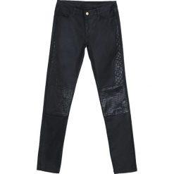 Spodnie damskie: Czarne Spodnie Best Chance