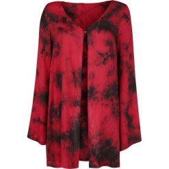 Kardigany damskie: Jawbreaker Batik Cardigan Kardigan damski czerwony/czarmy