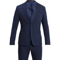 Bertoni DREJER JEPSEN Garnitur dress blue. Niebieskie garnitury Bertoni, z bawełny. Za 839,00 zł.