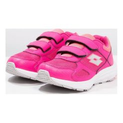 Lotto SPEEDRIDE 600 Obuwie do biegania treningowe pink glam/silver metallic. Czerwone buty sportowe męskie Lotto, z materiału, do biegania. Za 149,00 zł.