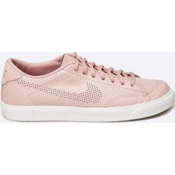 Nike Sportswear - Buty All Court 2 PRM. Szare buty sportowe damskie Nike Sportswear, z gumy. W wyprzedaży za 199,90 zł.