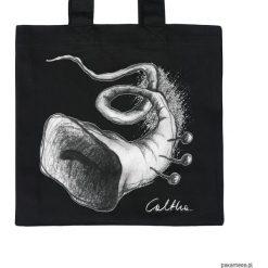 Trąbka - torba premium. Czarne shopper bag damskie Pakamera, z materiału. Za 63,00 zł.