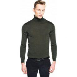 Golfy męskie: sweter valero golf zielony