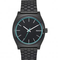 """Zegarek kwarcowy """"Time Teller"""" w kolorze czarno-niebieskim. Czarne, analogowe zegarki męskie Nixon, ze stali. W wyprzedaży za 159,95 zł."""