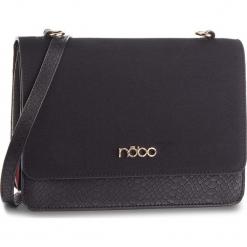 Torebka NOBO - NBAG-F2270-C020 Czarny. Czarne torebki klasyczne damskie Nobo, z materiału, zdobione. W wyprzedaży za 189,00 zł.