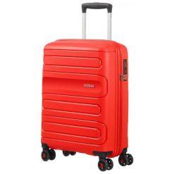 American Tourister Walizka Podróżna Sunside 55 Cm Czerwona. Czerwone walizki marki American Tourister. Za 368,00 zł.