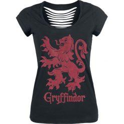 Bluzki asymetryczne: Harry Potter Gryffindor Koszulka damska czarny