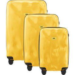 Walizki: Walizki Pioneer w zestawie 3 el. Mustard Yellow