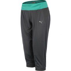 Spodnie sportowe damskie 3/4 PUMA GYM LOOSE CUFFED CAPRI / 512031-02. Szare spodnie sportowe damskie marki Puma, z gumy. Za 69,00 zł.