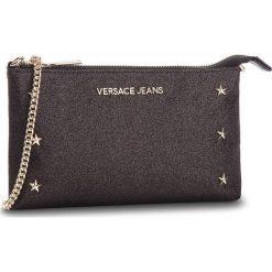 Torebka VERSACE JEANS - E3VSBPN5 70787 899. Czarne torebki klasyczne damskie Versace Jeans, z jeansu, bez dodatków. Za 369,00 zł.