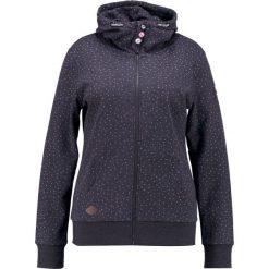 Bluzy rozpinane damskie: Ragwear Plus CHELSEA HEARTS ZIP PLUS Bluza rozpinana black melange