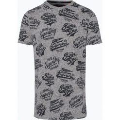 Superdry - T-shirt męski, szary. Szare t-shirty męskie Superdry, l. Za 119,95 zł.