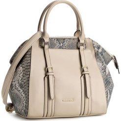 Torebka MONNARI - BAG0450-015 Beige. Brązowe torebki klasyczne damskie marki Monnari, w paski, z materiału, średnie. W wyprzedaży za 169,00 zł.